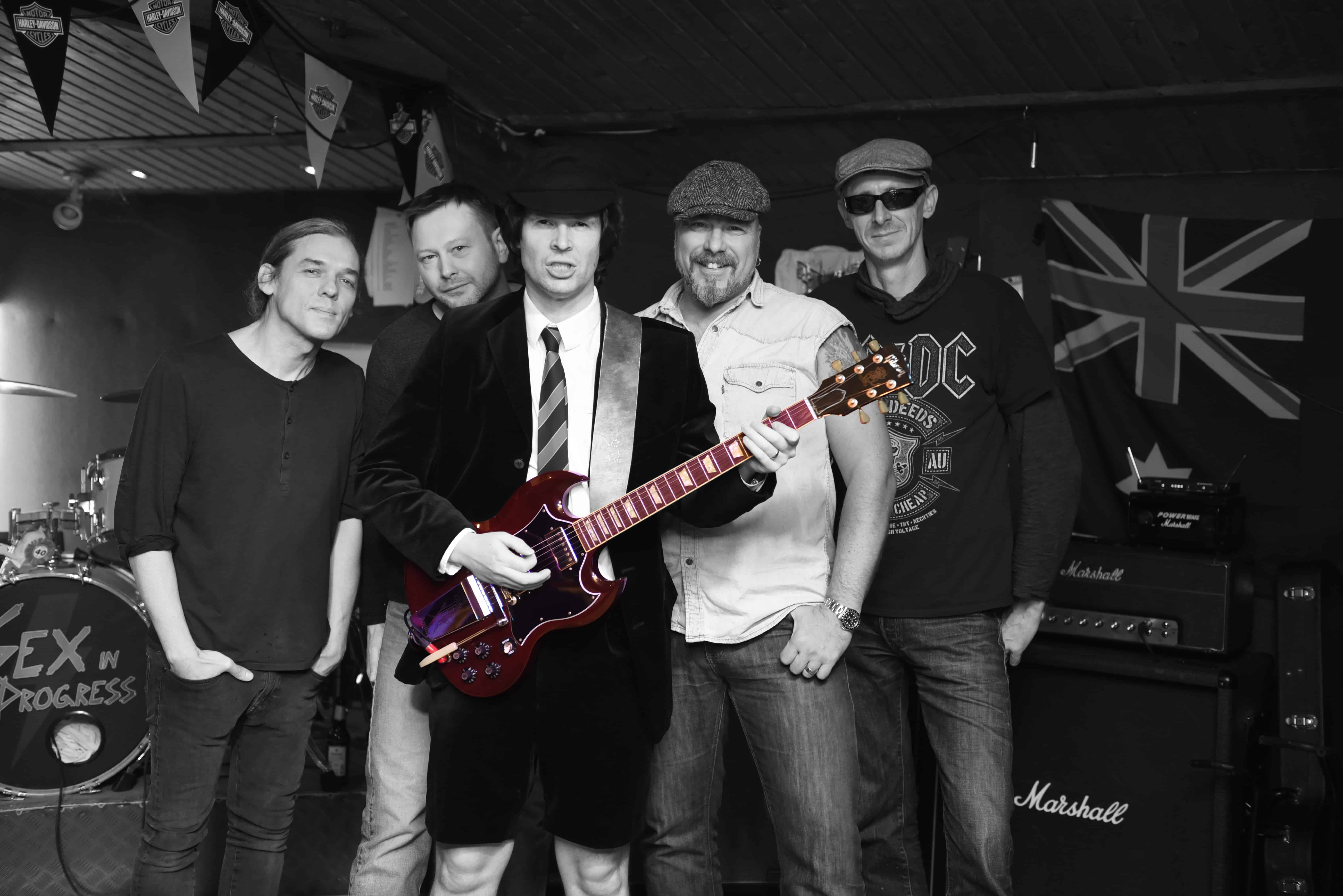 acdc tributeband coverband